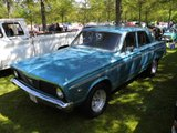 1966 Plymouth Valiant.